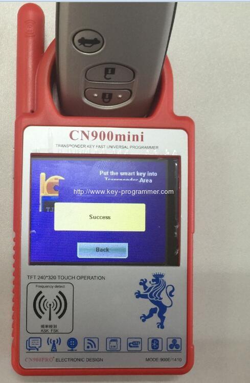 cn900 renew smart key 5-5