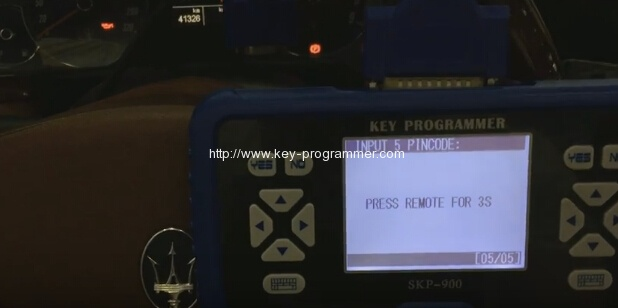 skp900 program maserati remote key 16-16