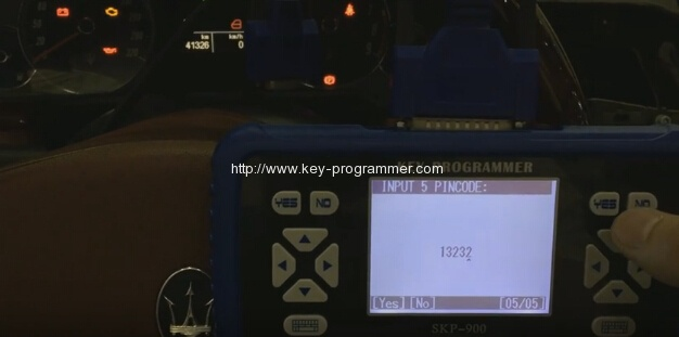 skp900 program maserati remote key 8-8