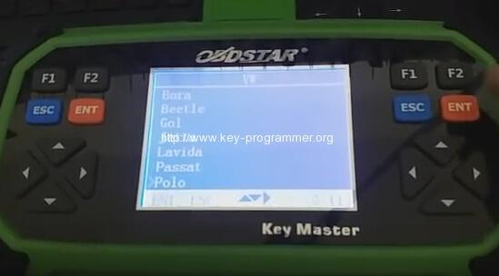 obdstar key master vw polo 7-7