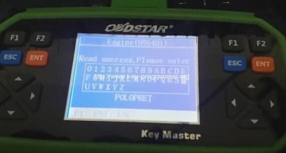 obdstar key master vw polo 9-9