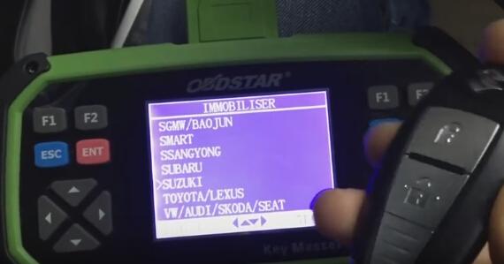 obdstar x3300 pro3 suzuki swift 2-2