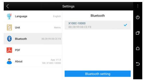 xtool x100c key programmer bluetooth settings-9