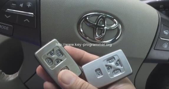 key master toyota estima remote 1-2