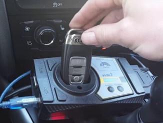 Обучаване на ключове за Audi