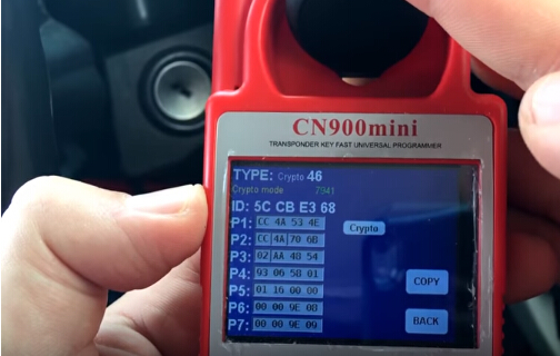 How to Clone 2014 Jeep Wrangler ID46 Chip Key with CN900 Mini