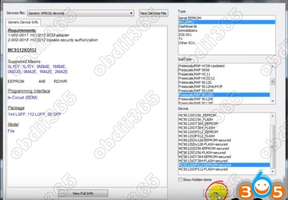 How to Program BMW CAS3 All Key Lost with Xprog and Tango