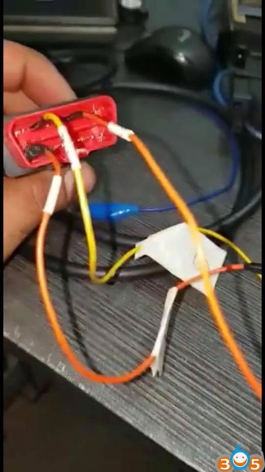 VVDI MB Tool W202 W208 W210 All Keys Lost Wiring Diagram W Ac Wiring Diagram on