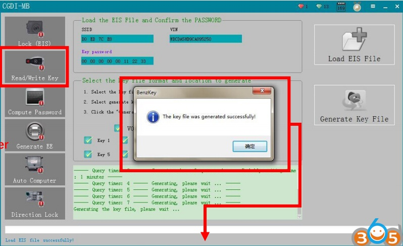 How to Program Mercedes A166 All Keys Lost with CGDI MB