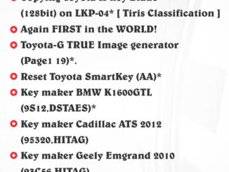 Original Tango V1 113 adds Toyota H 128bit and G TRUE Image generator