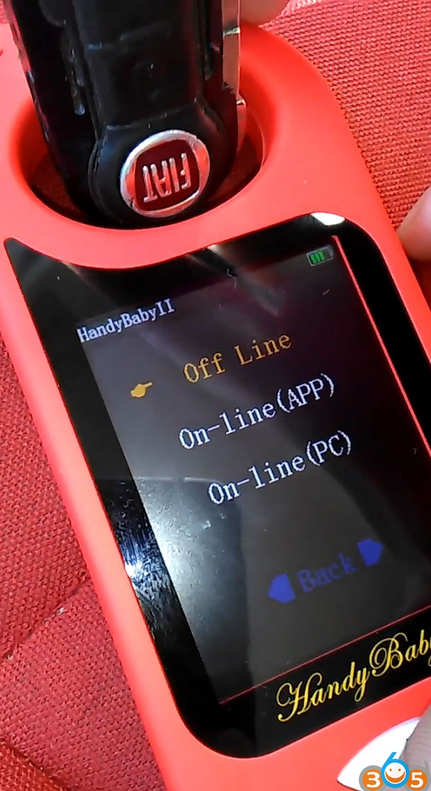 JMD Handy Baby II Copy Fiat 500 ID46 Remote Key