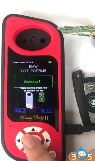 JMD Handy Baby II Unlock BMW PCF7945 Smart Key