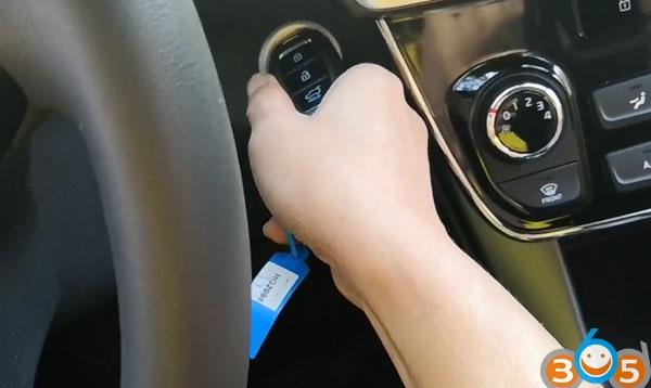 Program Hyundai Sonata 2018 8A Smart Key with OBDSTAR X300 DP Plus