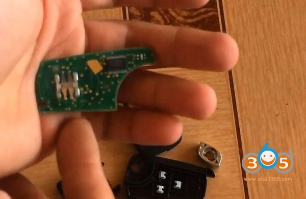 Renew Chervolet Cruze 7952E Smart Key by OBDSTAR X300 DP PLUS