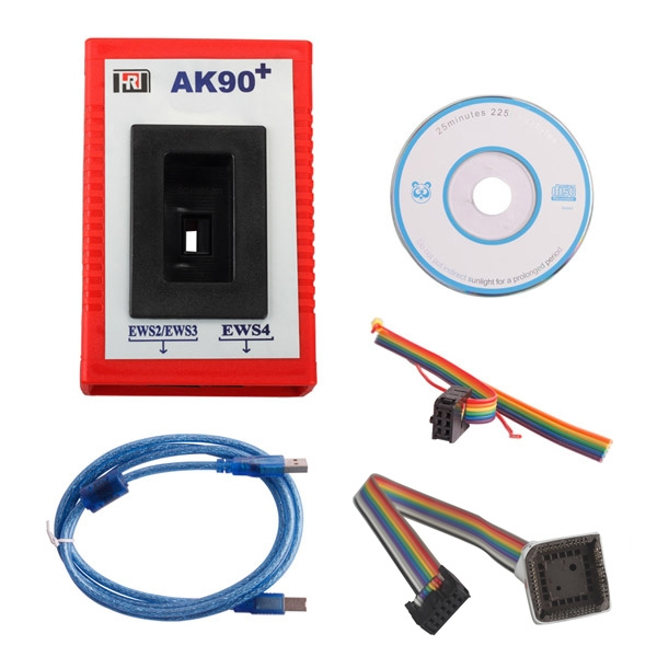 BMW EWS Key Programmer AK91 Plus 4.00 vs. AK90 AK90+ 3.19