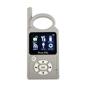 Car key Copy 4D ID46 with TM100 and Hand BABY key programmer