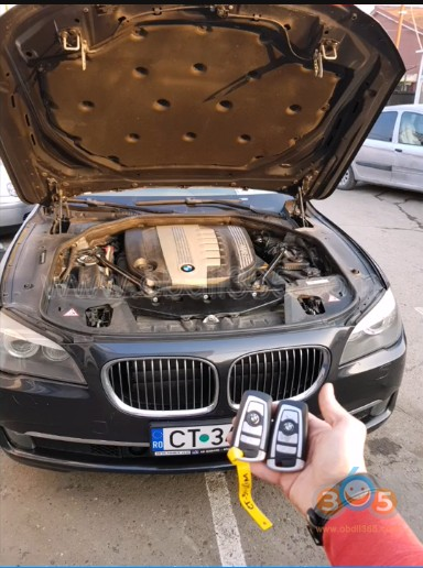 How to Add BMW F-series F01 2010 Key with Lonsdor K518ISE