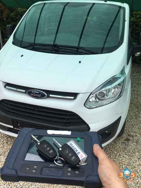 How to Add European Ford Transit Custom 2016 key with Lonsdor K518