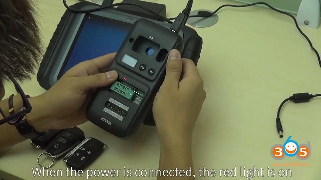 How to connect Xtool KC501 with X100 PAD3 Key Programmer