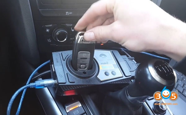 How to do Audi a4 RB8 2004+ Key Learning with VVDI2, AVDI or FVDI?