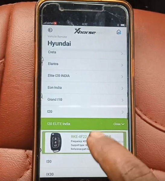 How to Generate and Program remote to Hyundai I20 Elite?