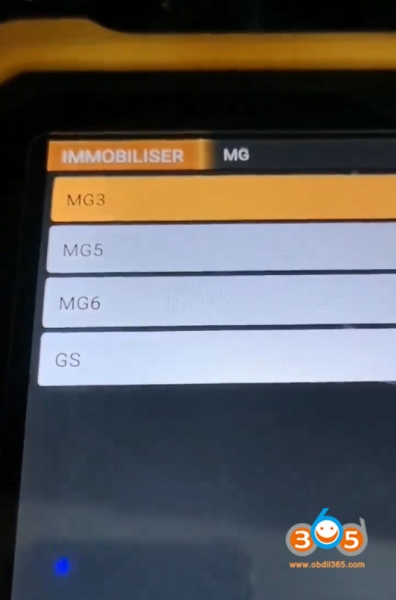 How to Read MG350 Pin Code with OBDSTAR X300 DP PLUS