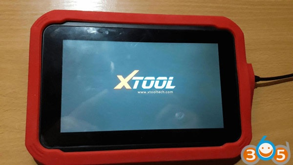 How to solve Xtool X100 Pad not start after system update problem