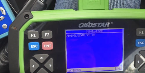 OBDSTAR X300 Pro3 program Toyota H chip remote key