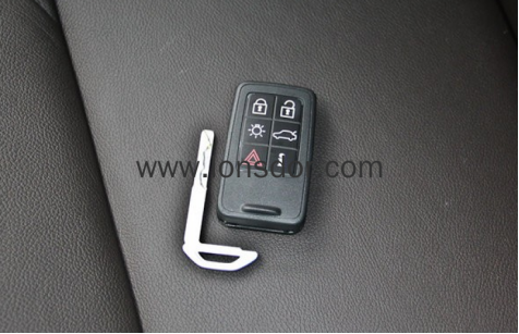 Program Volvo S60 Full Keyless Smart Key with Lonsdor K518ISE