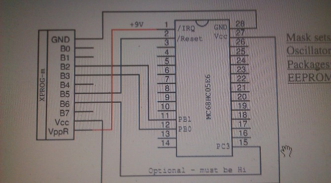 XPROG-M Programmer Read MCU of Old MB Keys
